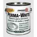 ZINSSER PERMA-WHITE - MATE Y SATINADO BLANCO